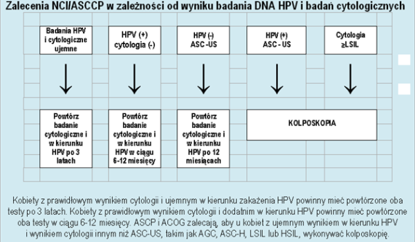 Wirus HPV - zalecenia