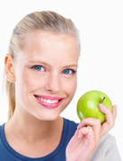 An apple a day keeps the doctor away-Health concepts