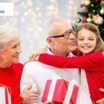 zdrowie w prezencje - dziadkowie z wnuczką miniatura