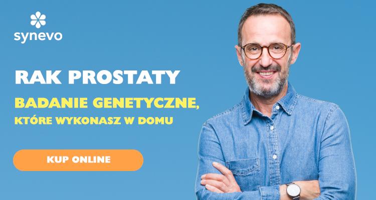 Rak prostaty badanie genetyczne