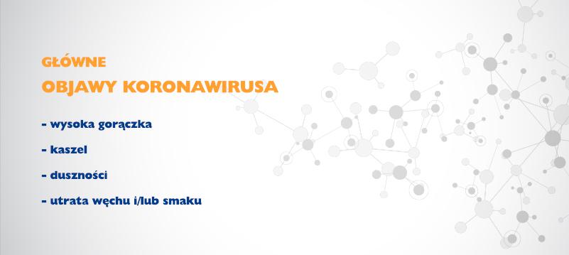 objawy koronawirusa